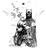 Camiseta Batman - Bat Fly White