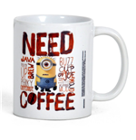 Taza Gru, mi villano favorito - Minions - Need Coffee