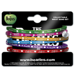 Pack 6 Pulseras de silicona The Beatles - Apple