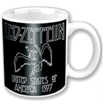 Taza Led Zeppelin - '77 Usa Tour