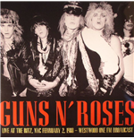 Vinilo Guns N' Roses - It's So Easy: Live At The Ritz 1988 Fm Broadcast