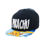 Pokemon Gorra Béisbol Snap Back Lightning Pikachu