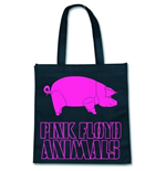Bolso Pink Floyd - Animal Logo On Black
