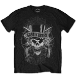 Camiseta Guns N' Roses Faded Skull