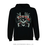 Sudadera Guns N' Roses Distressed Skull