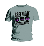 Camiseta Green Day Three Heads Better Than One