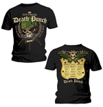 Camiseta Five Finger Death Punch Warhead