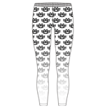 Leggings Five Finger Death Punch de mujer - Design: Knuckleduster