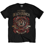 Camiseta Five Finger Death Punch Badge of honour