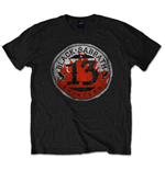 Camiseta Black Sabbath 13 Flame Circle