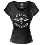 Camiseta Avenged Sevenfold de mujer Classic Death Bat