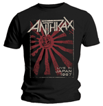 Camiseta Anthrax Live in Japan