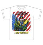 Camiseta Anthrax I am the Law Vintage