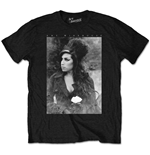 Camiseta Amy Winehouse Flower Portrait