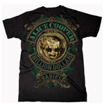 Camiseta Alice Cooper Billion Dollar Baby Crest
