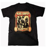 Camiseta Alice Cooper Elected Band