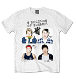 Camiseta 5 seconds of summer Scribbles