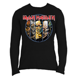 Camiseta manga larga Iron Maiden Eddie Evolution