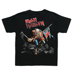 Camiseta Iron Maiden de bebé Trooper