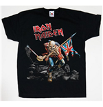 Camiseta Iron Maiden de niño Trooper