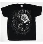 Camiseta Iron Maiden de niño Number of the Beast