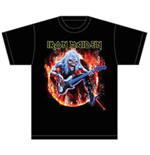 Camiseta Iron Maiden Fear Live Flames