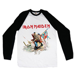 Camiseta manga larga Iron Maiden Trooper