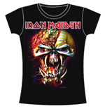 Camiseta Iron Maiden de mujer Final Fronter