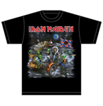 Camiseta Iron Maiden Knebworth Moon buggy
