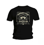 Camiseta Johnny Cash American Rebel