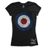 Camiseta The Who de mujer Target Distressed