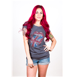 Camiseta The Rolling Stones Classic UK Tongue de mujer