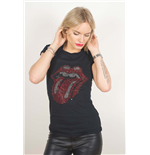 Camiseta The Rolling Stones Classic Tongue de mujer