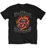 Camiseta The Rolling Stones Flaming Tattoo Tongue
