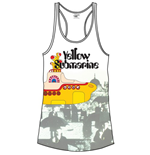 Camiseta de tirantes Beatles Yellow Sub & Brollies de mujer