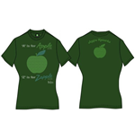Camiseta Beatles de chica A Is For Apple