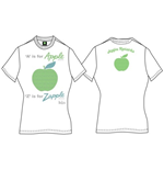Camiseta Beatles A Is For Apple de mujer