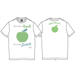 Camiseta Beatles A is for Apple