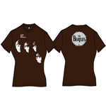 Camiseta Beatles With the Beatles de chica