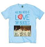 Camiseta Beatles All you need is love Playcards