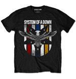 Camiseta System of a Down Eagle Colours