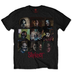 Camiseta Slipknot Blocks
