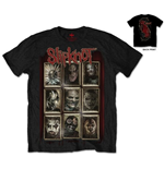 Camiseta Slipknot New Masks