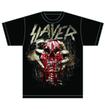 Camiseta Slayer Skull Clench