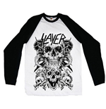 Camiseta Slayer Skulls