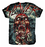 Camiseta Slayer War Painted Blood