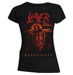 Camiseta Slayer de mujer Repentless Crucifix