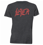 Camiseta Slayer Distressed Logo