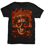 Camiseta Slayer Crowned Skull
