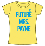 Camiseta One Direction de chica Future Mrs Payne